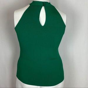 Eva Mendes Tops - Eva Mendes Green Knit Halter Neck Size X-Large